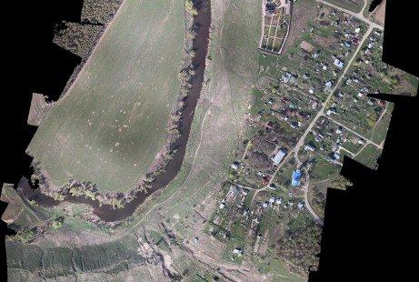 Obtención de cartografía digital con UAV