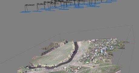 cartografía digital en vuelo fotogramétrico